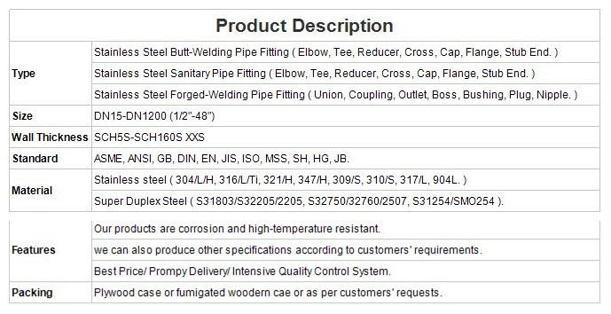 Stainless-steel-pipe-flange-Description