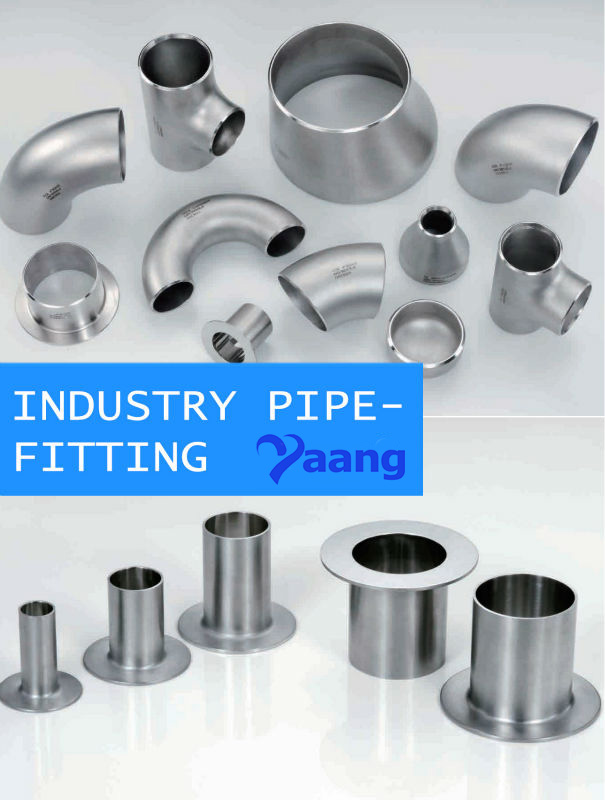 Astm a wp l stainless steel fitting yaang
