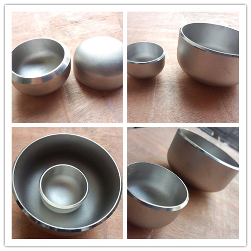 stainless steel pipe fitting cap