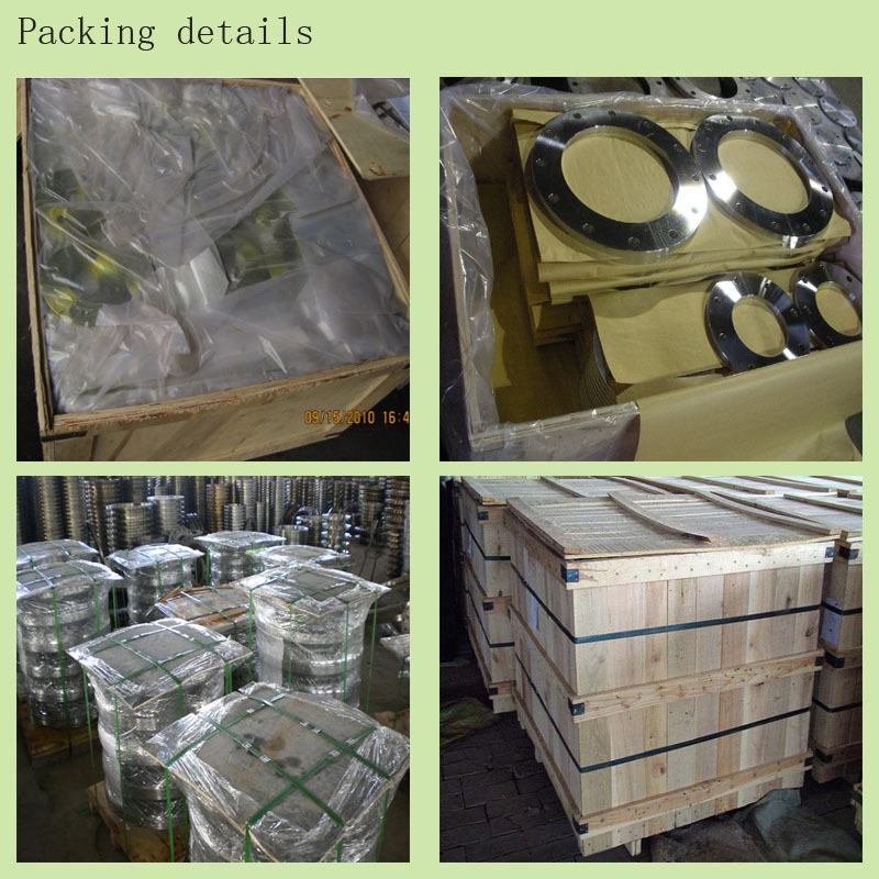 stainless steel welding neck flange Packing