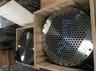 904L Tube Plate Use For Heat Exchanger Packing