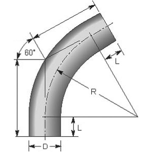 60DEG 3D BEND Drawing