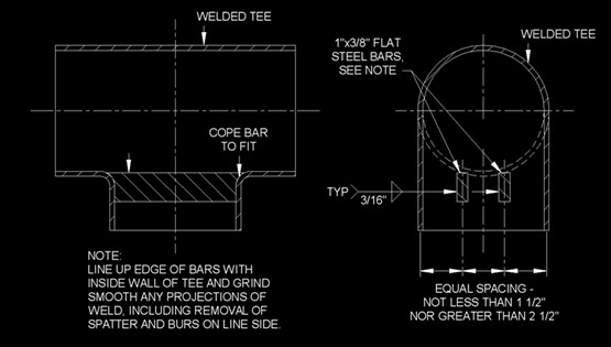 How to design and produce the barred tee (Pigged Tee)