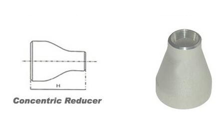 Alloy 20 Concentric Reducer