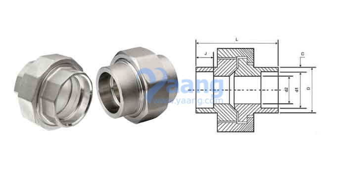 What is socket weld union yaang