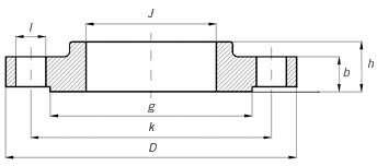 ANSI, ASME, ASA, B16.5 SLIP ON FLANGE RAISED FACE
