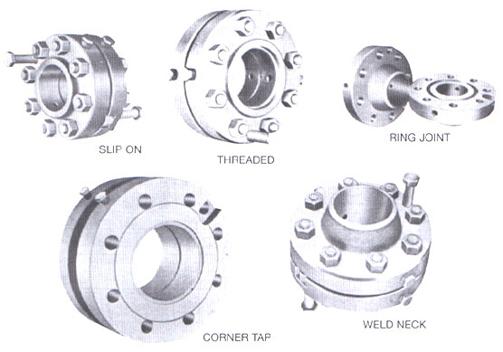 types of orifice flanges
