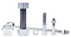 Super duplex steel bolts and nuts of different specifications