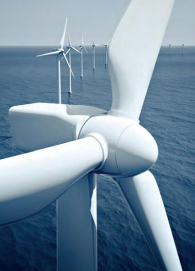 Super duplex steel bolts are also used in offshore wind turbines