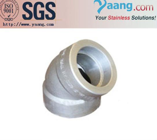 Stainless steel socket weld sw elbow yaang