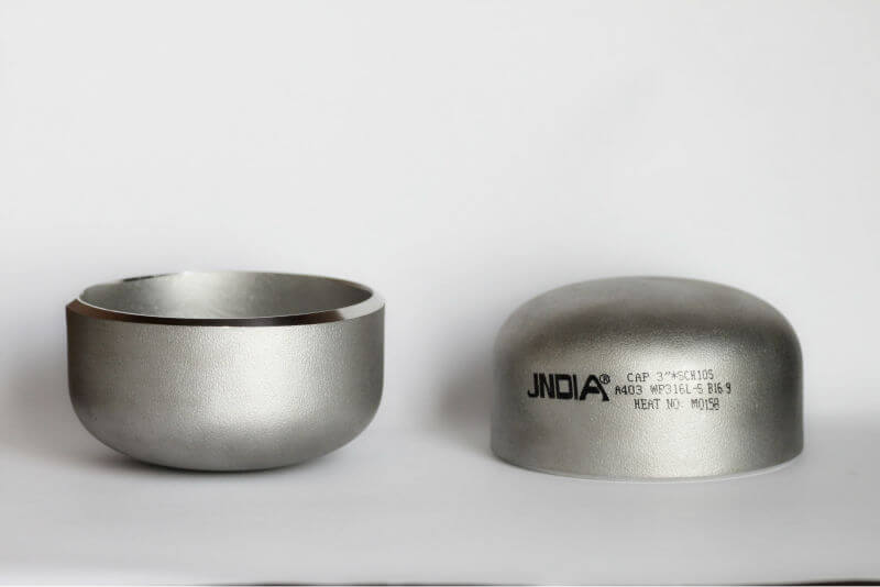 Butt welded stainless steel pipe end caps yaang