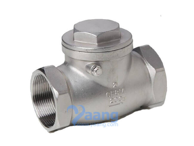 Stainless steel swing check valve psi yaang