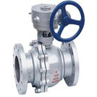2 PC Cast steel Floating Ball Valve