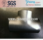 2205 stainless pipe tee