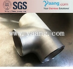 254smo pipe fitting equal tee
