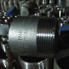 316L NPT Half Pipe Nipple 1 - 1/2 Inch 150LB