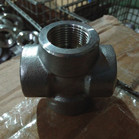 316L Threaded Pipe Cross DN20 2000LBS