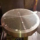 48 Inch Duplex Stainless Steel 2205 Tube Plate Use For Heat Exchanger