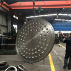 48 Inch UNS S32750 F53 Tube Plate Use For Heat Exchanger