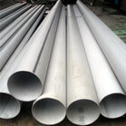 6 Inch Stainless Steel Welded Pipe EFW Customized