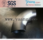 A815 S31803 S32750 Duplex Steel Seamless and Welded Pipe Bend