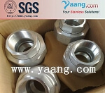 A105 Galvanized Threaded Union