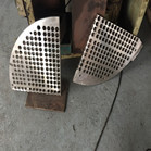 A240 904L Baffle Two Pieces Use For Heat Exchanger