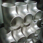 ASME B16.9 304L 316 316L 321 Stainless Steel Equal Tees For Pipeline Construction
