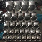 ASTM A815 2507 Super Duplex Stainless Steel Equal Tee