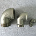 BSPT NPT BSP DIN 2999 Stainless Steel Threaded Elbow Pipe Fitting