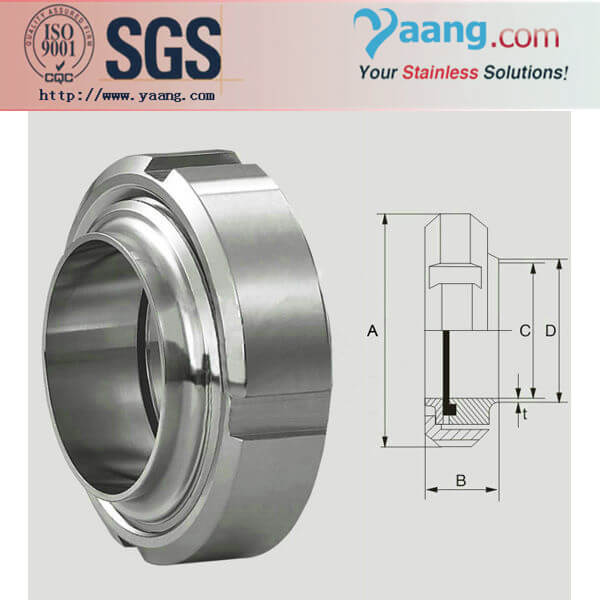 3A Expanding Male and Liner-Sanitary and Food Grade Stainless Steel