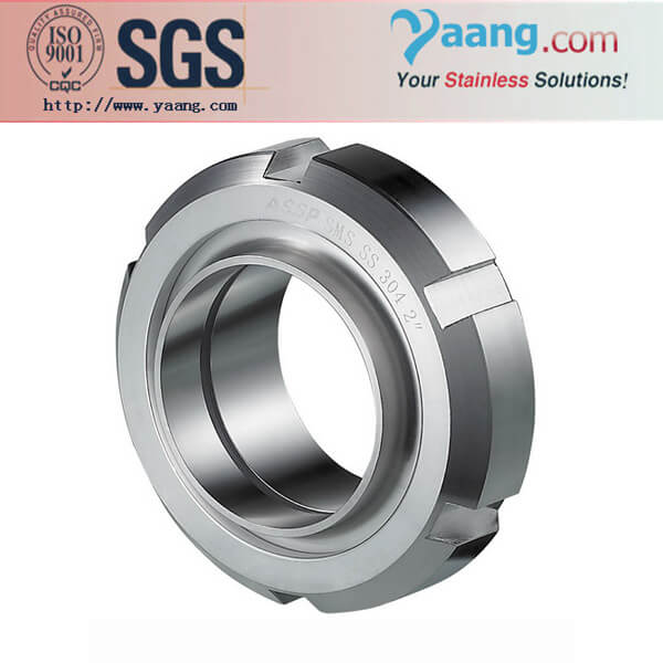 Food Grade Stainless Steel Union- SMS,DIN,3A,ISO,IDF,RTJ etc.