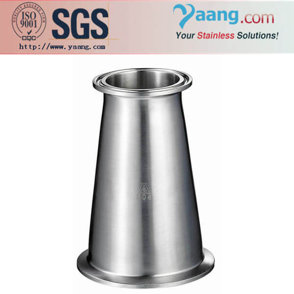 Sanitary Clamped Reducer- Stainless Steel Sanitary and Food Grade Pipe Fittings
