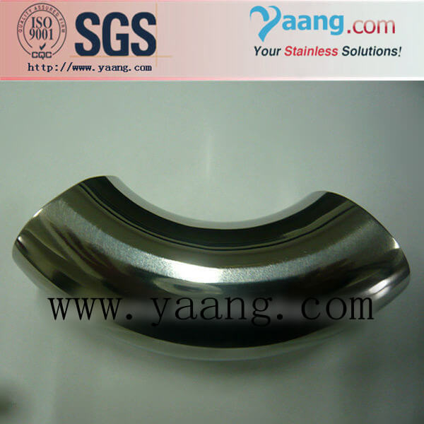 Sanitary SMS 316L Elbow