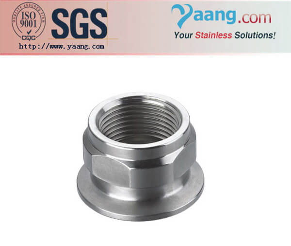 Sanitary Stainless Steel Clamp Thread Joint-Tube Fittings--Quick Series