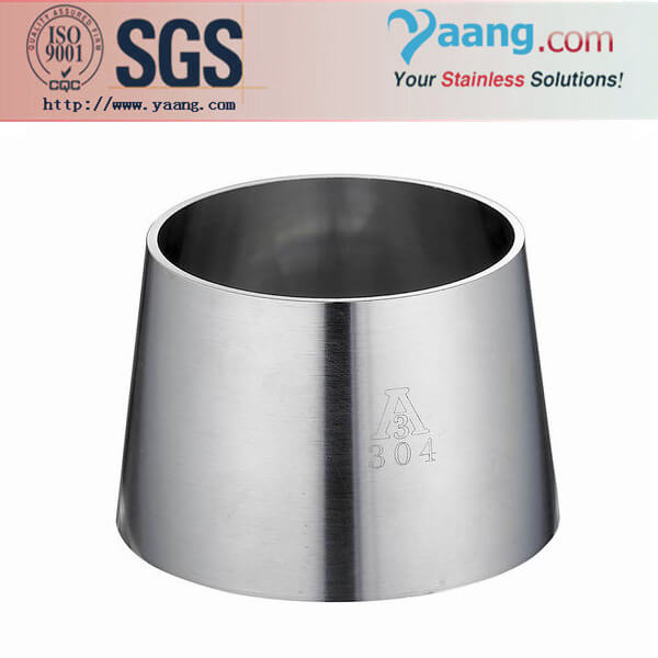 Sanitary Welded Reducer- Stainless Steel Sanitary and Food Grade Pipe Fittings