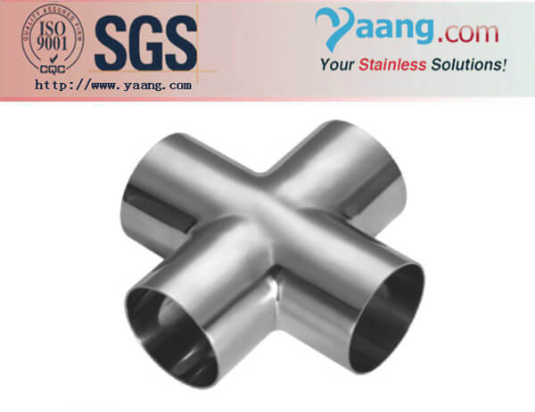 Stainless Steel Sanitary Cross