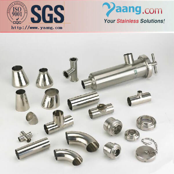 Stainless Steel Sanitary Polished Fittings