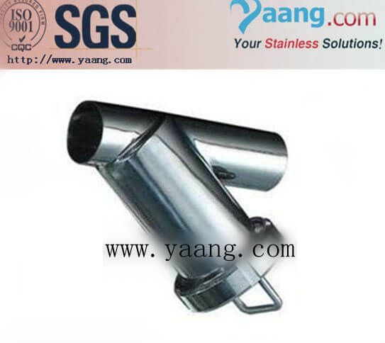Stainless Steel Sanitary Y Type Welded Strainer