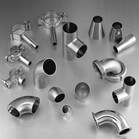Butt Welding Pipe Fitting Sanitary Stainless Steel Fittings in food industry