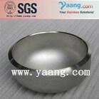 Butt welding seamless steel cap ss316