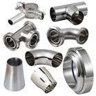 DIN Butt Welding Stainless Steel Sanitary Pipe Fittings
