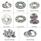 Different types casting stainless steel flange