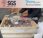 DIN 1.4878 stainless steel flange