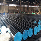 GR.B/API 5L ASTM A106 SMLS Carbon Steel Pipes SCH XS DN450