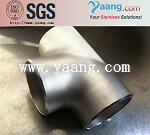 S32760/F55/1.4501 Super Duplex steel Tee pipe fittings reducing and equal