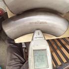 SDUP ASTM A790 UNS32750 GR2507 3D Bend 60DEG SCH160S DN100