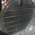 SS 904L Fixed Tube Sheet THK: 76MM Use For Heat Exchanger