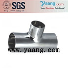 Sanitary Stainless Steel Tee-Tube Fittings