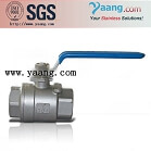 Stainless Steel 1000WOG 304 1PC 2PC 3PC Ball Valve
